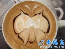 让人舍不得喝的咖啡艺术品(十)
