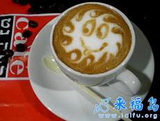让人舍不得喝的咖啡艺术品(七)