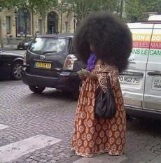 Tú estilo de pelo es tan moderno como lo de Vivienne Westwood.
