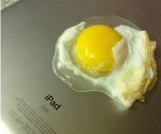 Ipad para freir huevo
