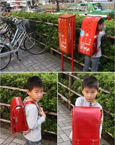 日本再一次出现雷人发明,防抢书包!