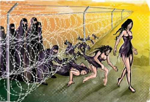 冲破重重封锁!被解放的伊斯兰教女性