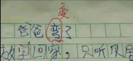 他可能没写错