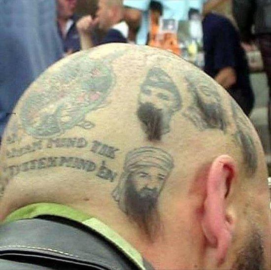 非常有创意的发型