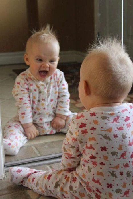 啊!镜子里面哪个丑货是谁呀?
