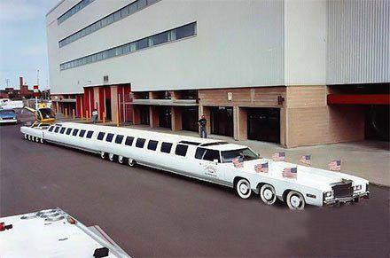 有钱人的车都是这么长