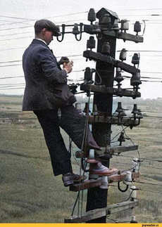 电话线维修工